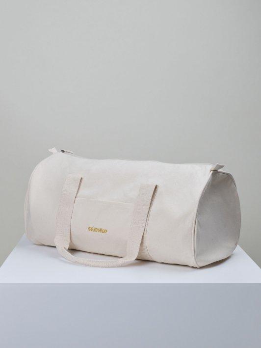 Barrel Bag in organic cotton