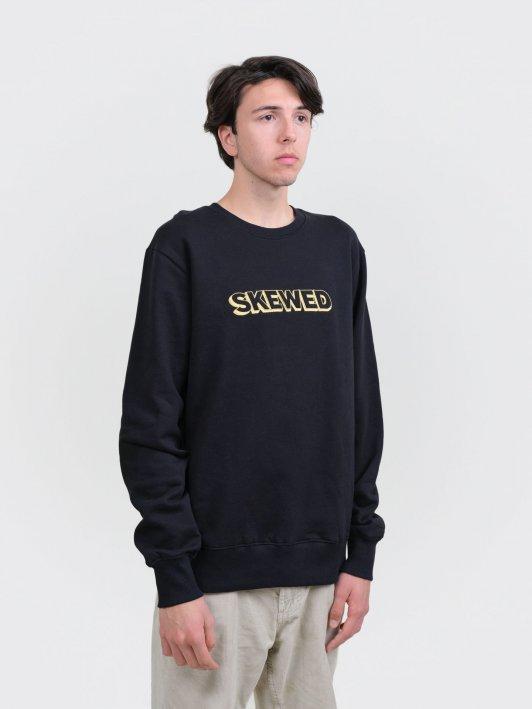Unisex Sweatshirt 24K big logo on heavy organic cotton