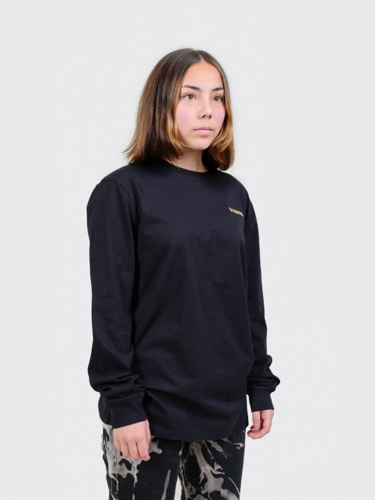 Unisex Longsleeve T-shirt 24K on heavy organic cotton